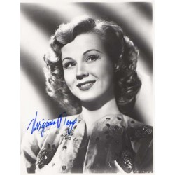 Virginia Mayo signed original genuine autograph authentic photo