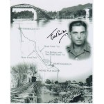 WW2 Bridge over River Kwai signed photo