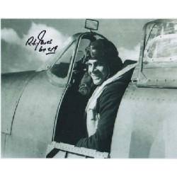 WW2 Spitfire ace Richard Jones signed autograph photo 3