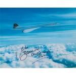 Mike Bannister Concorde authentic genuine signed autograph image 3 dealer