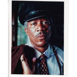 Morgan Freeman signed authentic autograph photo
