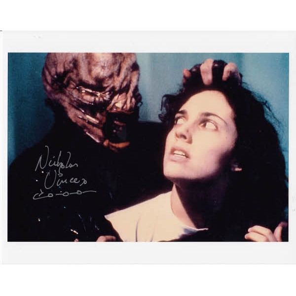 Nicholas Vince Hellraiser signed authentic autograph photo