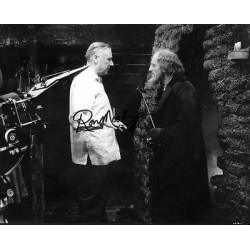 Ron Moody Scrooge Oliver genuine signed authentic autograph photo