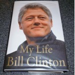 Bill Clinton US President genuine authentic autograph signed book 2.