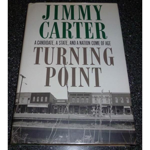 Jimmy Carter US President genuine authentic autograph signed book 2.