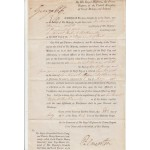 King George IV Palmerston authentic genuine signed autograph document