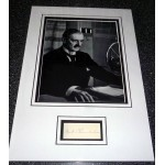 Neville Chamberlain PM signed authentic autograph photo display