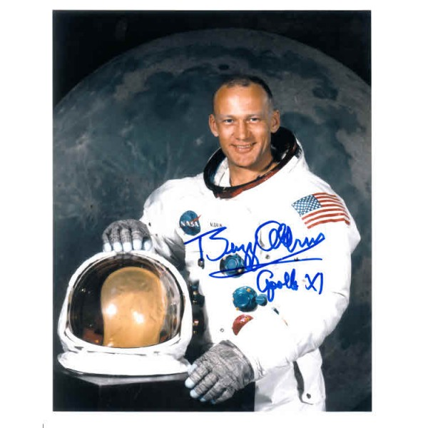 Apollo 11 Buzz Aldrin authentic signed autograph photo 3