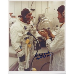 Dick Gordon Apollo 12 genuine authentic autograph signed photo.