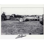 Eric Brown test pilot genuine authentic autograph signed jet photo.