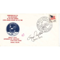 Gary Payton Discovery Shuttle authentic genuine signed autograph cover.
