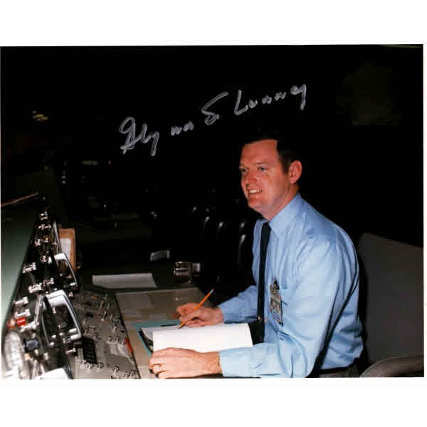 Glyn Lunney Space genuine signed authentic autograph photo