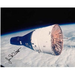 Jim James McDivitt Apollo Gemini space genuine authentic autograph signed photo.