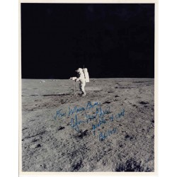 SOLD Ed Mitchell Apollo 14 genuine authentic autograph signed photo.