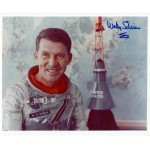 Wally Schirra Mercury Gemini Apollo genuine signed authentic signature photo 6