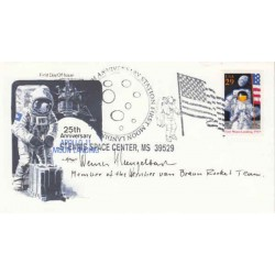 Werner Gengelbach Mercury Gemini Apollo genuine signed authentic autograph cover