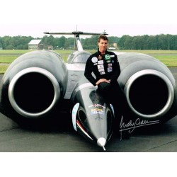 Andy Green Thrust SSC genuine authentic autograph signed photo