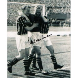 Bert Trautmann Man City football genuine authentic autograph signed photo 2