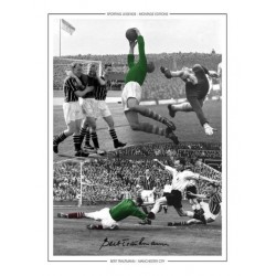 Bert Trautmann Man City football genuine authentic autograph signed photo 3