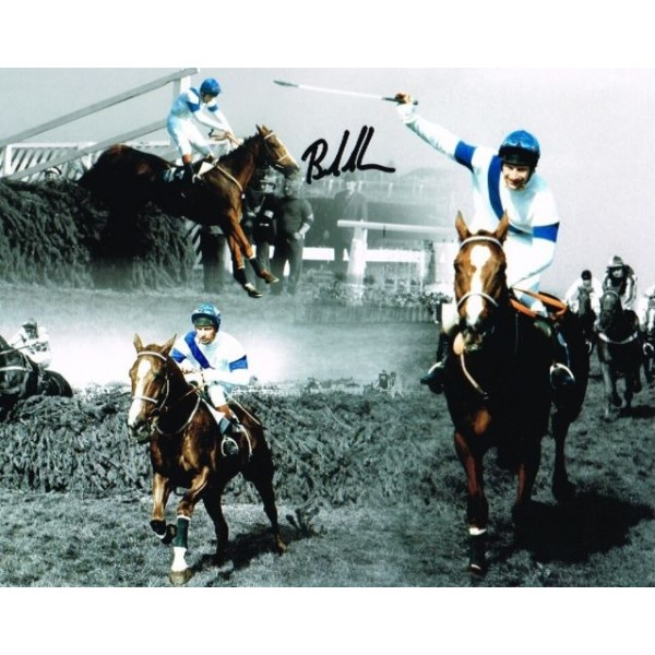 Bob Champion Horse racing genuine authentic autograph signed photo