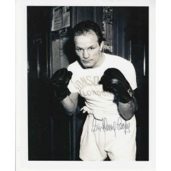 Boxing Henry Cooper Muhammad Ali signed authentic autograph photo