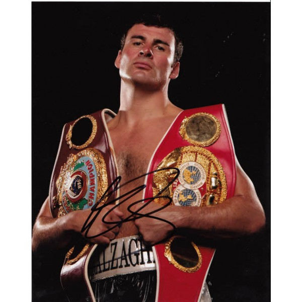 Boxing Joe Calzaghe signed authentic autograph photo 2