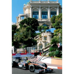 Bruno Senna F1 Monaco genuine authentic autograph signed photo.