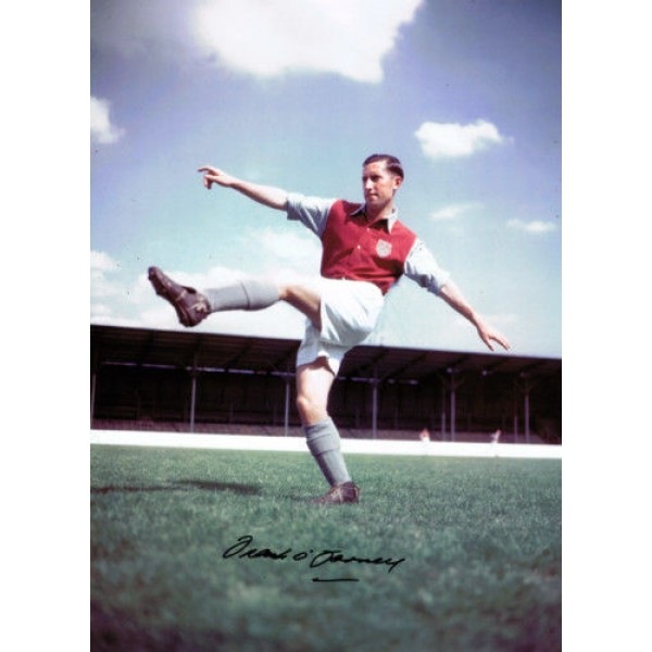 Frank O'Farrell West Ham genuine authentic autograph signed photo