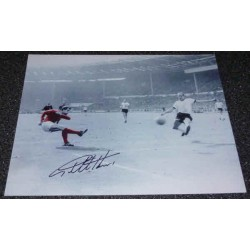 Geof Hurst WC 1966 West Ham football genuine authentic autograph signed photo 2