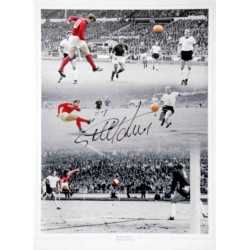 Geof Hurst WC 1966 West Ham football genuine authentic autograph signed photo