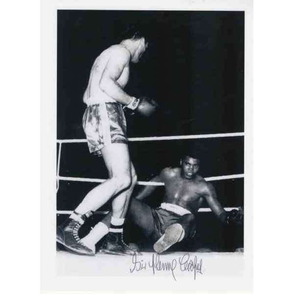 Henry Cooper Muhammad Ali Boxing genuine signed authentic signature photo