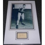 Jack Sharkey Boxing genuine authentic signed autograph display photo