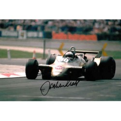 Jochen Mass  F1 Arrows genuine authentic autograph signed photo.