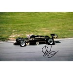 Nigel Mansell Lotus F1 genuine authentic autograph signed image.