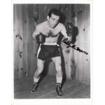 Paddy De Marco Boxing genuine authentic signed autograph photo.