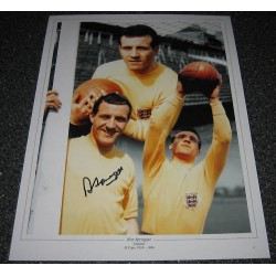 Ron Springett  England genuine authentic autograph signed photo