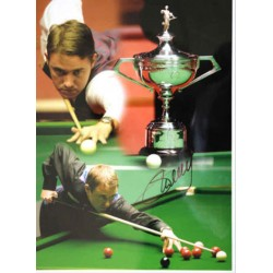 Stephen Hendry snooker genuine authentic autograph signed photo