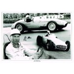 Stirling Moss F1 genuine authentic autograph signed photo