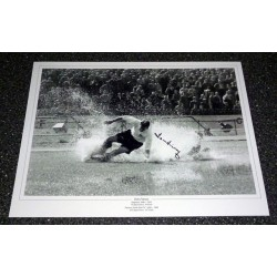 Tom Finney Preston Splash football genuine authentic autograph signed photo 2