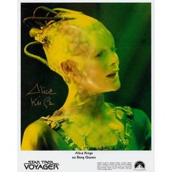 Star Trek Voyager Alice Krige genuine signed authentic autograph photo