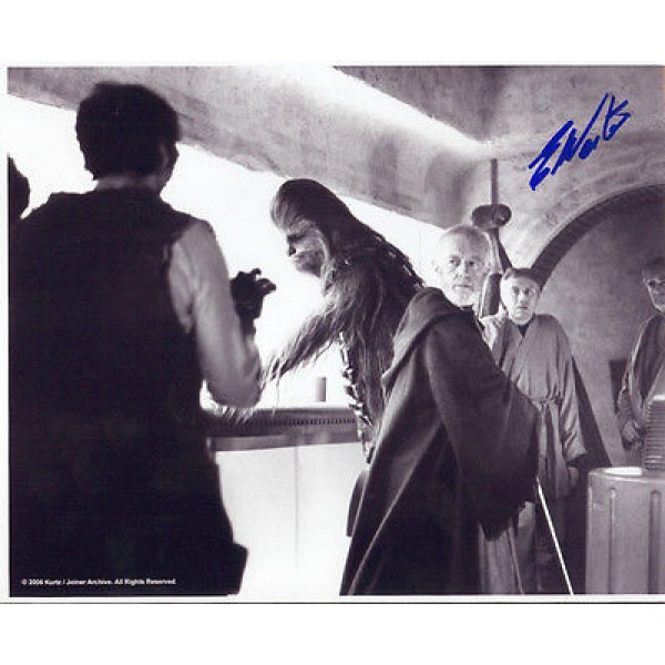 Star Wars Ted Western genuine signed authentic autograph photo