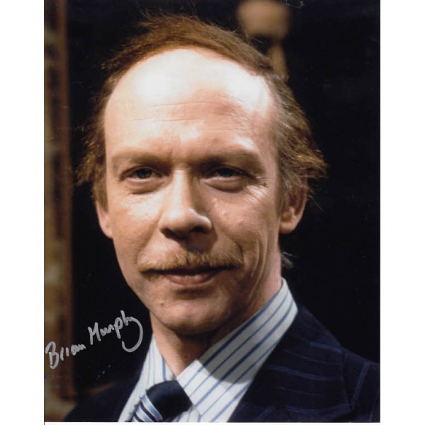 Brian Murphy George and Mildred signed authentic autograph photo