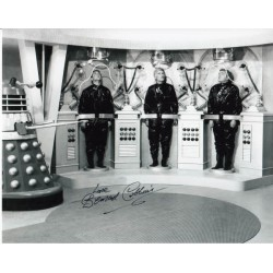 Doctor Who Bernard Cribbins signed original genuine authentic photo