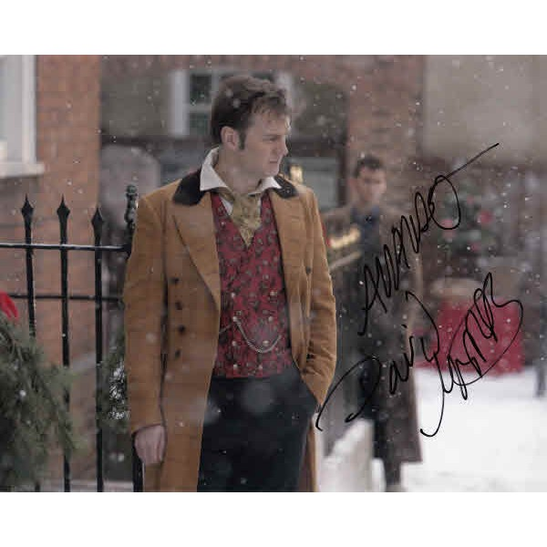 Doctor Who David Morrissey authentic genuine signed autograph photo