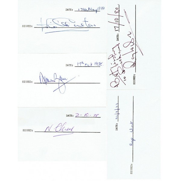 1966 World Cup genuine authentic signed autograph