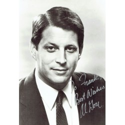 Al Gore genuine authentic signed autographs