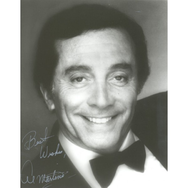 Al Martino genuine authentic signed autographs
