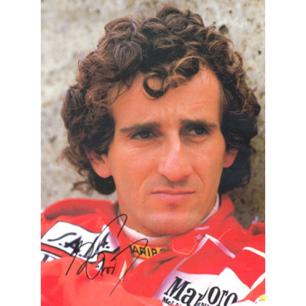 Alain Prost (Four time World Champion)