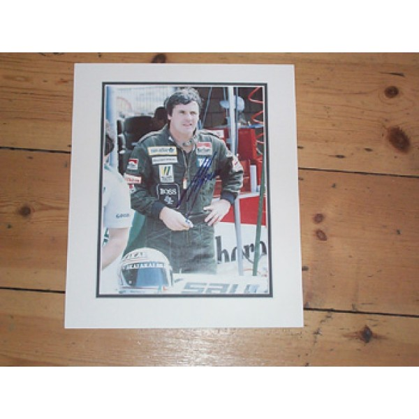 Alan Jones original authentic genuine signed autograph