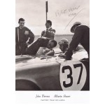 Alberto Ascari authentic signed autograph signatures photo
